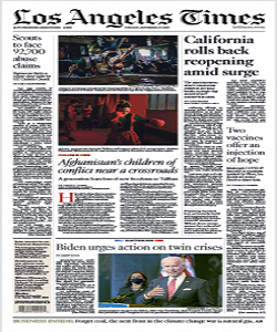 Los Angeles Times Magazine 17 November 2020 | Los Angeles News | Free PDF Download