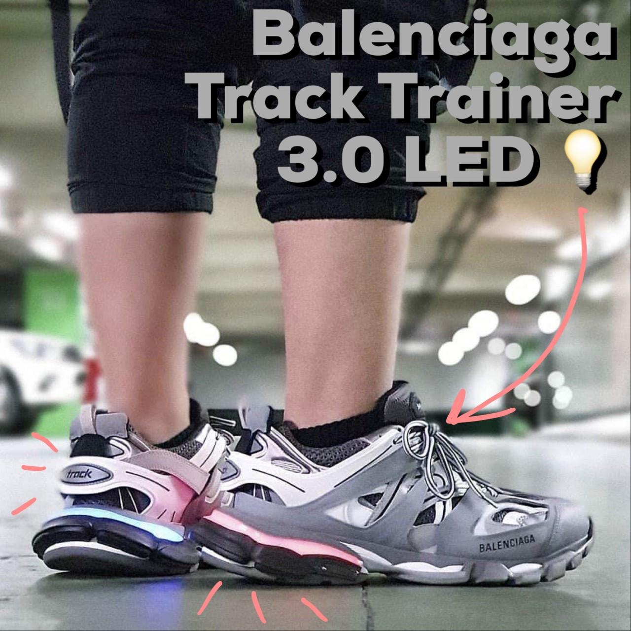Balenciaga logo track coat came thru dripin in 2019