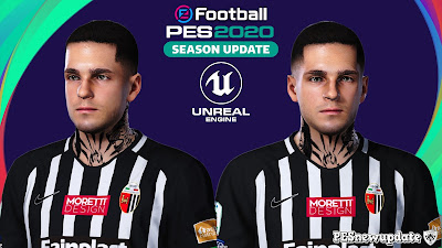 PES 2020 Faces Gianluca Scamacca by Prince Hamiz