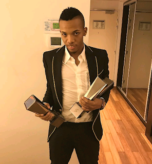 Tekno Flaunts His Awards And Wads Of Raw Cash (Photos)