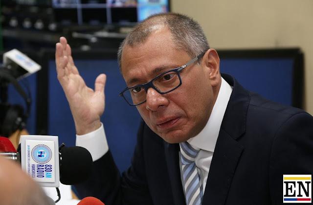 jorge glas vicepresidente de ecuador