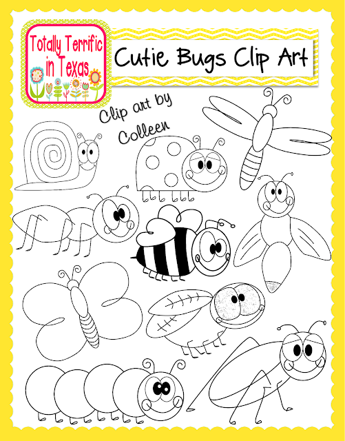 http://www.teacherspayteachers.com/Product/Cutie-Bugs-Clip-Art-1276171