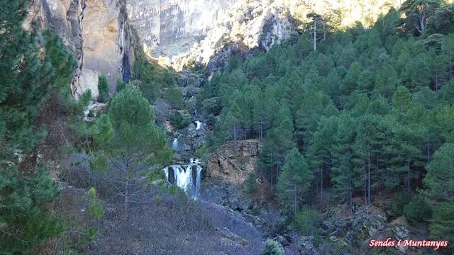 Otro salto de agua, Nacimiento río Borosa, Pontones, Sierra de Cazorla, Jaén, Andalucía