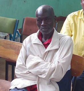 KBC popular radio veteran at Nakuru Court. PHOTO | Courtesy of Nakuru Dailies.