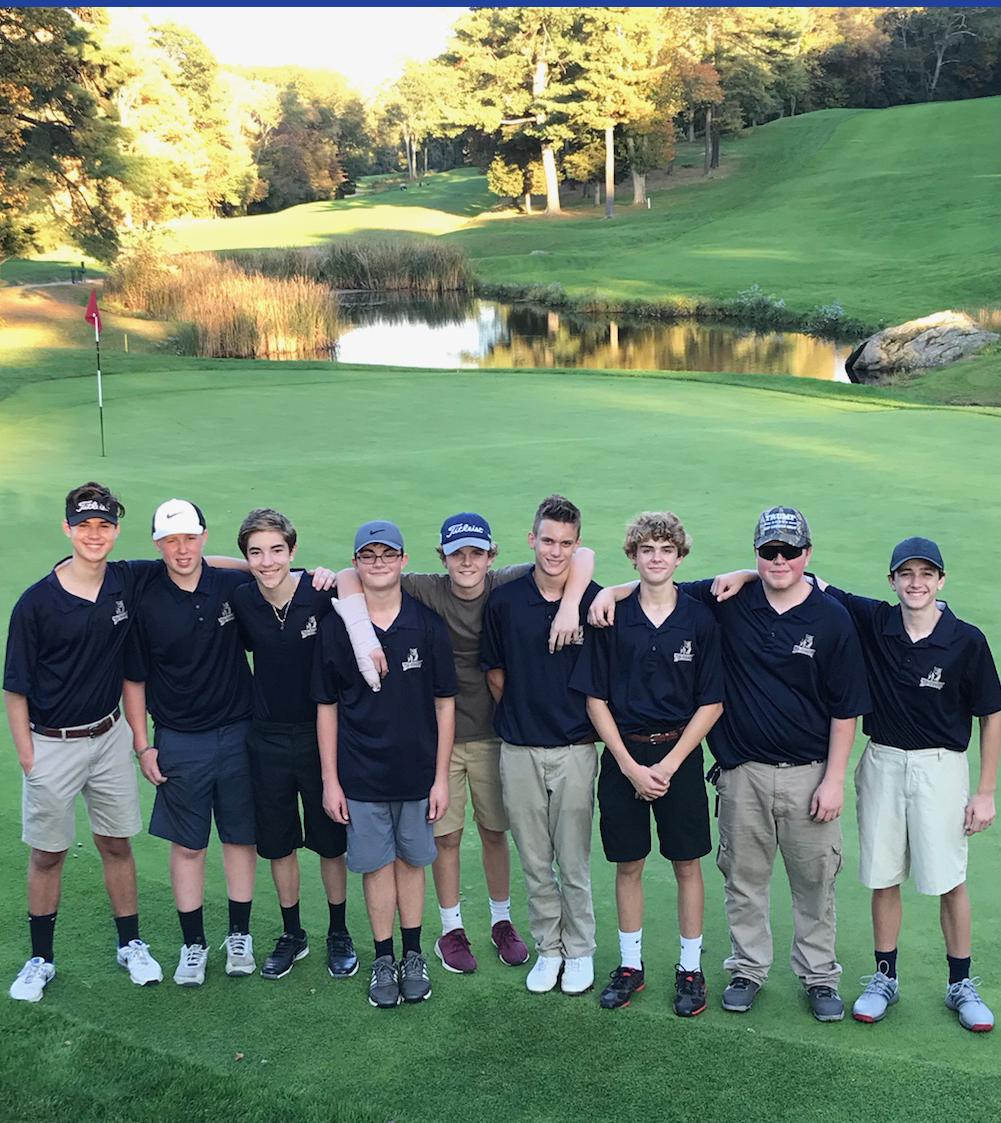 Franklin Matters: Tri-County Golf Team Wins 2018 Mayflower
