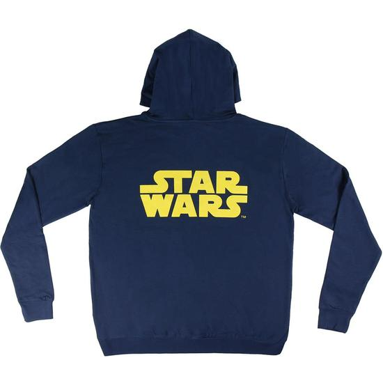 SUDADERA CON CAPUCHA COTTON BRUSHED STAR WARS