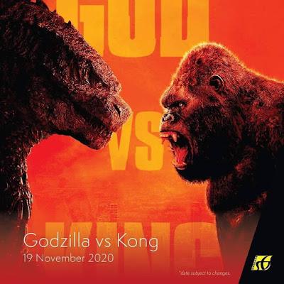 Filem Keluar Panggung Wayang 2020 | Godzilla vs Kong (2020)