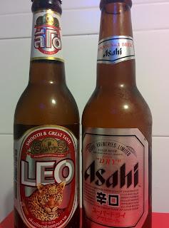 Asahi dry Leo