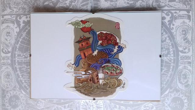 pocztówka z chin, chiny, święto smoczych łodzi, pocztówka ze świętem smoczych łodzi