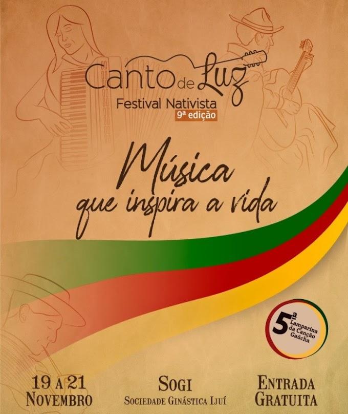 Divulgados os Intérpretes selecionados para a 5ª Lamparina da Canção Gaúcha