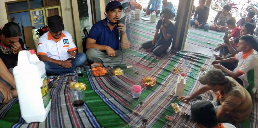 Dispora Ajak Pemuda Grobogan menjadi Petani Milenial