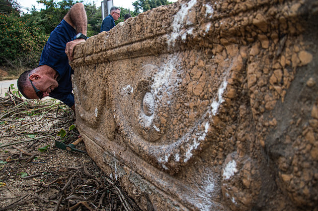 Builders rediscover two 1800-year-old sarcophagi in Israel