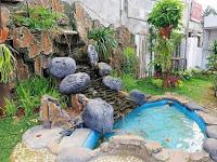 10++ Contoh Foto Taman dengan Ornamen relief-Tebing