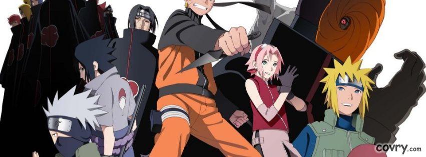 Ảnh bìa Naruto, ảnh bìa facebook Naruto đẹp nhất năm