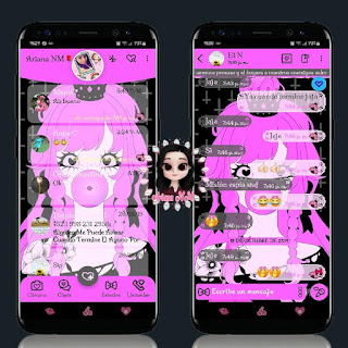 Girls Balloon Theme For YOWhatsApp & Fouad WhatsApp By Ariana
