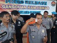 Polres Sleman Amankan Penjual Pil Koplo