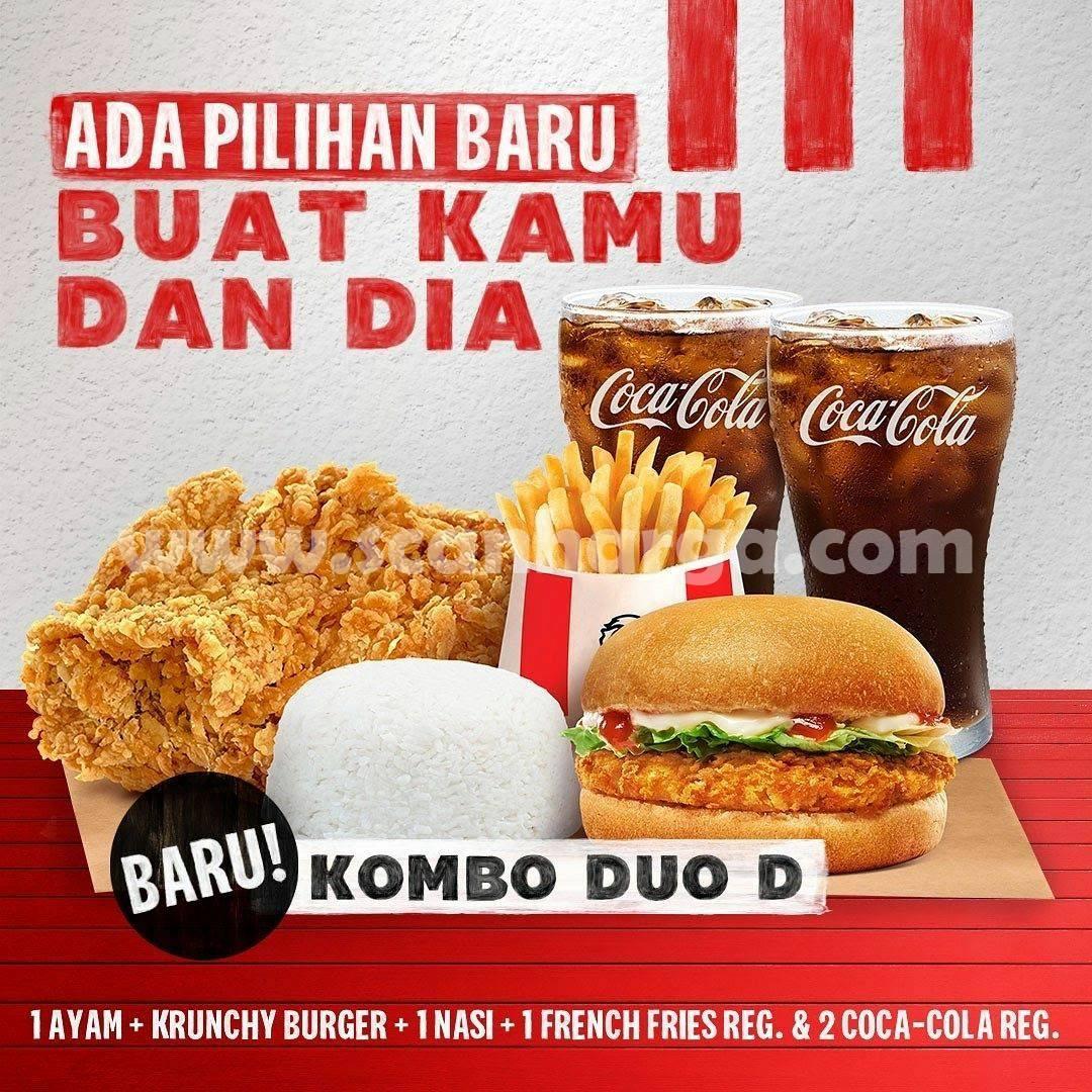 KFC COMBO DUO Ada Pilihan Baru - Harga Promo KOMBO Masih Rp. 50.000
