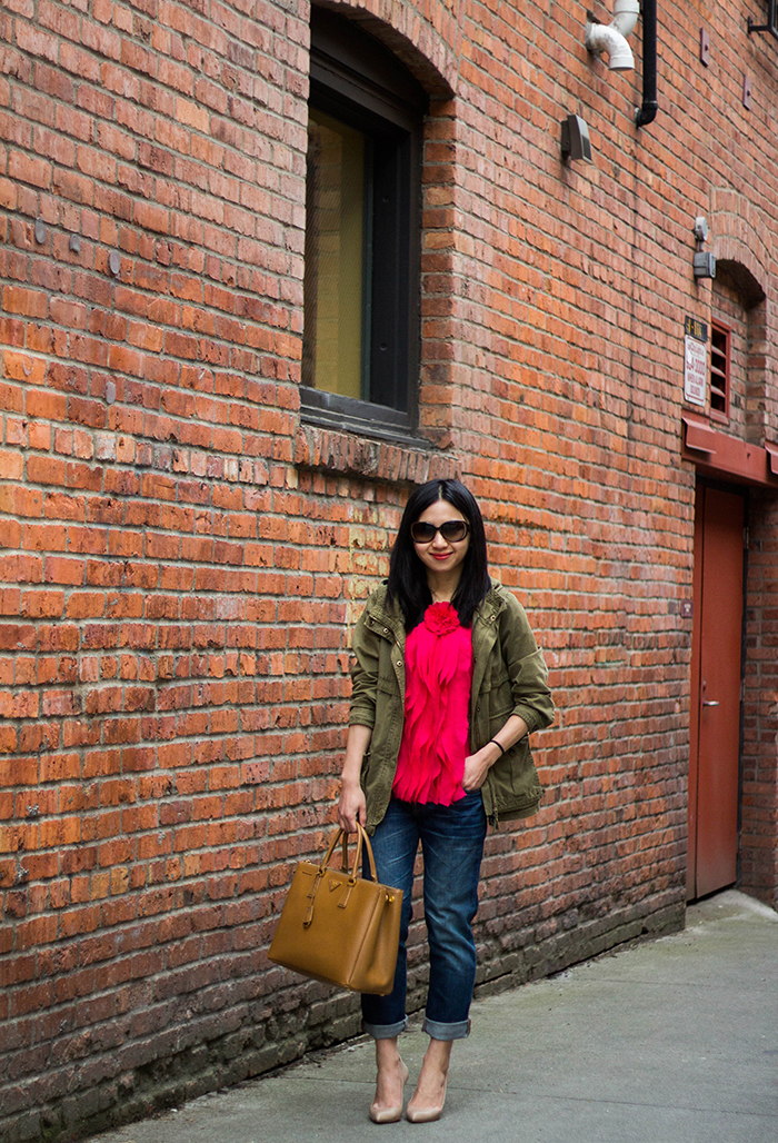 30 Outfits in a Bag: Field Jacket