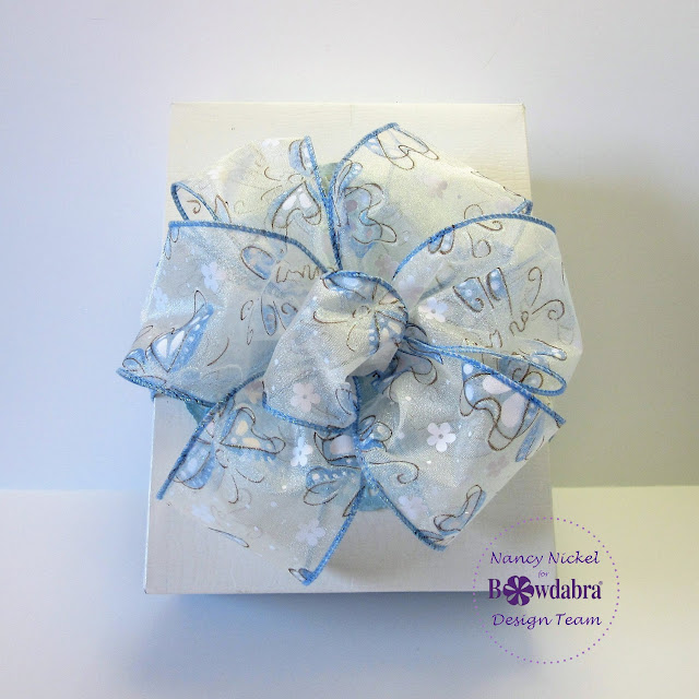 easy gift box bow