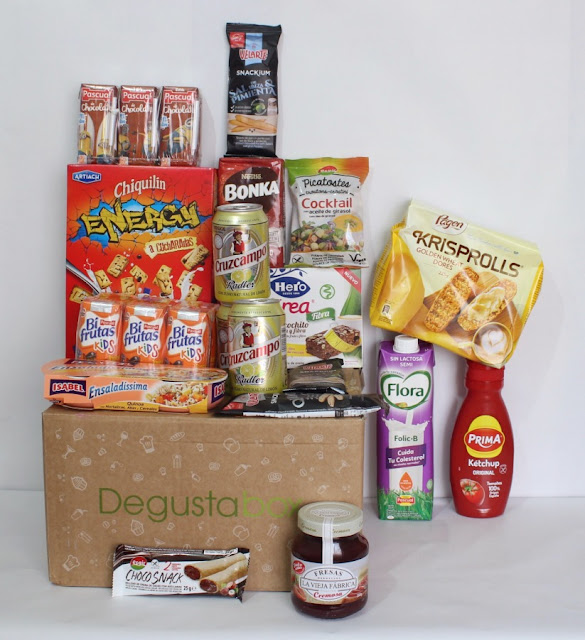 Degustabox Agosto 2017