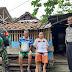 Hadapi pandemi akibat penyebaran Virus Corona, Jajaran Polsek Babelan Polrestro Bekasi, salurkan bantuan beras dari Presiden RI Joko Widodo