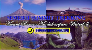 Semeru Trekking Bromo Madakaripura Waterfall Tour 4 Days