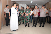 Panglima TNI Terjun Langsung Cek Pengamanan Gereja Katholik STMB