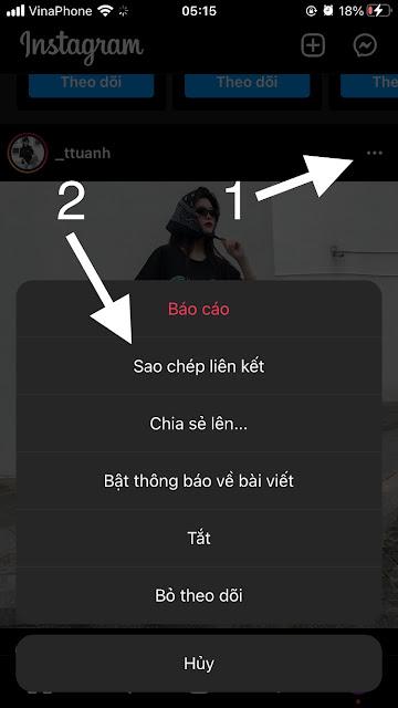 Cách tải ảnh Instagram về điện thoại đơn giản