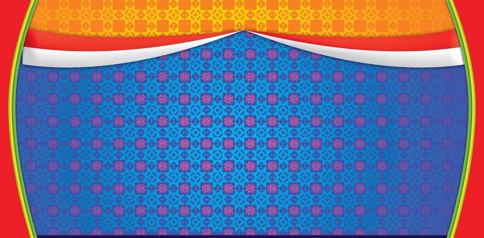 Background Biru Melayu