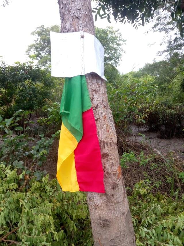 Velléité de sécession dans l'Est-Mono : Un drapeau béninois hissé en territoire togolais