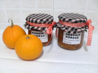 Mermelada de naranja amarga.