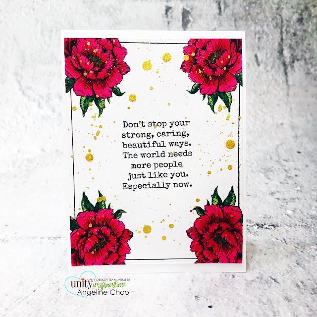 ScrappyScrappy: *NEW* Unity Stamp DIGITAL stamps #scrappyscrappy #unitystampco #unitystampdigitalstamp #digitalstamp #cardmaking #papercraft #handmadecard #inthistogether #peony #floralstamp #janedavenport #janedavenportmermaidmarkers #watercolor #watercolorpainting #gansaitambi #starrycolors #gansaitambistarrycolors