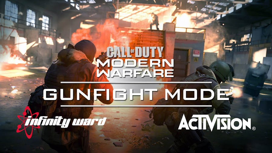 call of duty modern warfare 2019 gunfight mode 2v2 reveal activision infinity ward