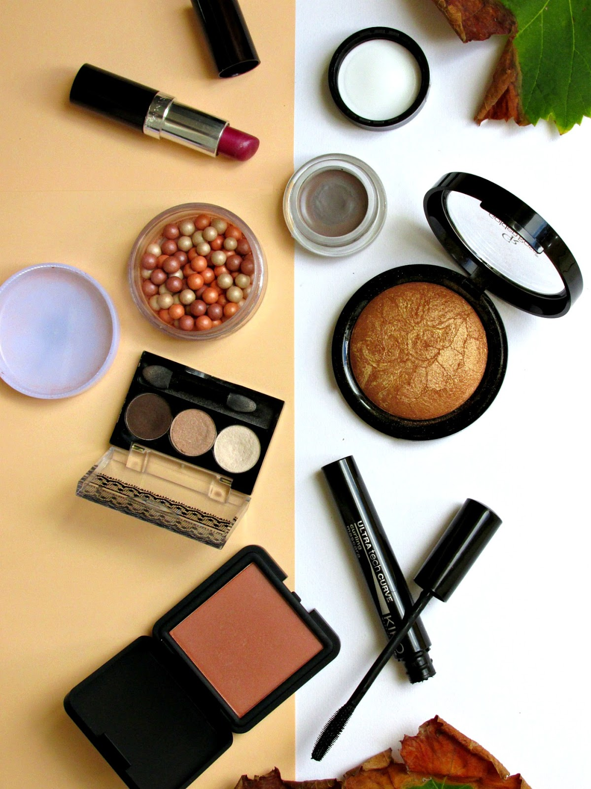 Fall makeup look, transitional makeup, summer to autumn makeup look