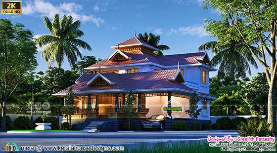 Awesome traditional Kerala house