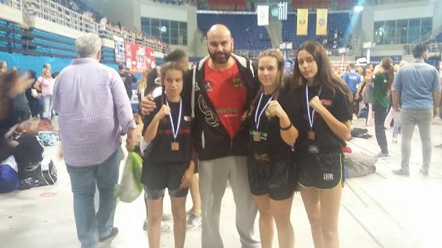 3 μετάλλια στο Πανελλήνιο Πρωτάθλημα Kick Boxing για τον αθλητικό σύλλογο του Ναυπλίου 'Ευ Αγωνίζεσθαι'