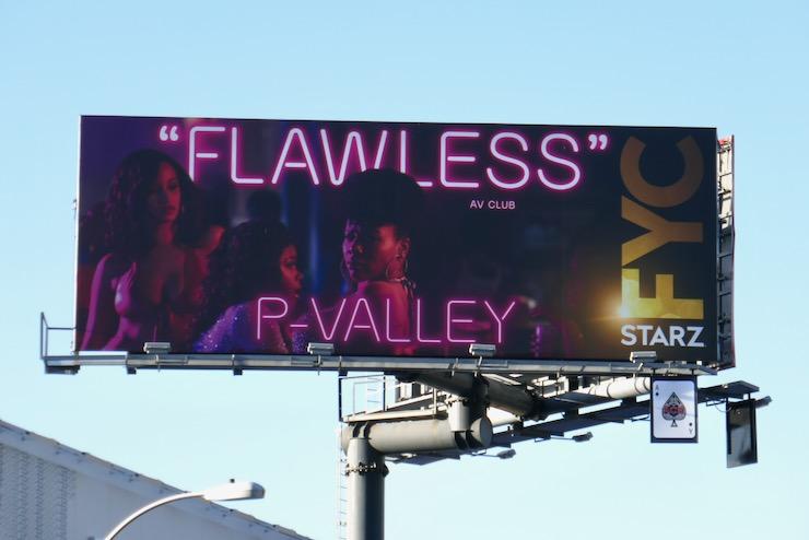 P-Valley Flawless FYC billboard