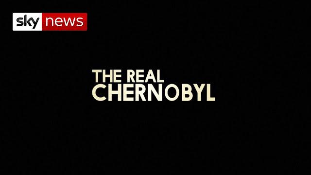 Póster de The Real Chernobyl, original de Sky