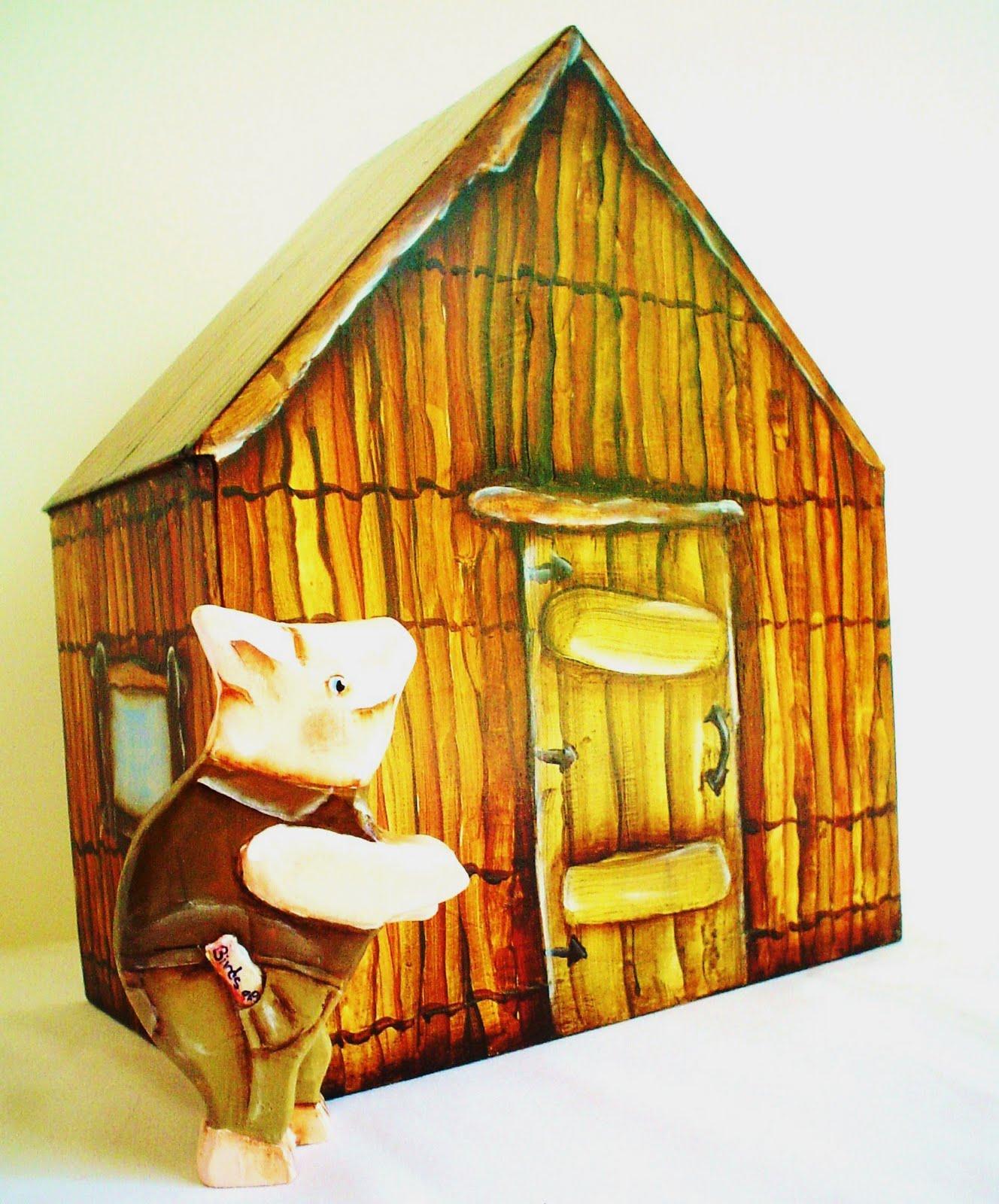 Three Little Pigs Stick House