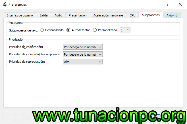 Descargar Avidemux Editor de Video Full