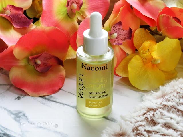 serum nawilżające, nacomi beauty, kosmetyki nacomi, nawilżanie, odżywianie, eliksir młodości, kosmetyki naturalne nacomi