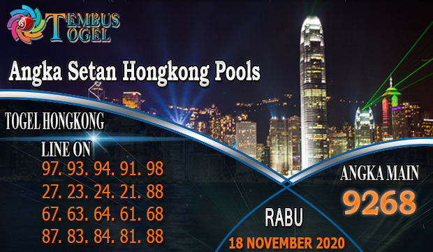Angka Setan Hongkong Pools Hari Rabu 18 November 2020