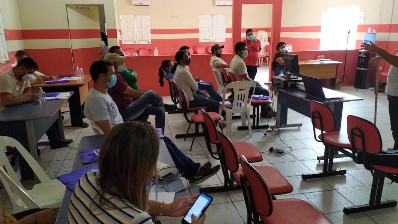 Secretaria Estadual de Saúde promove treinamento para agentes de endemias em Poção de Pedras-MA