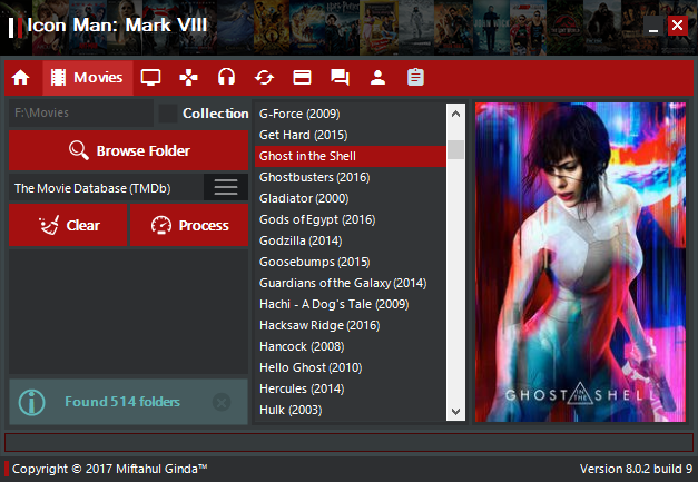 Icon Man | Customize your movies, series, games, and music folder easily