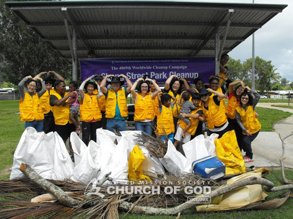 Shang Street Park Cleanup, Cairns