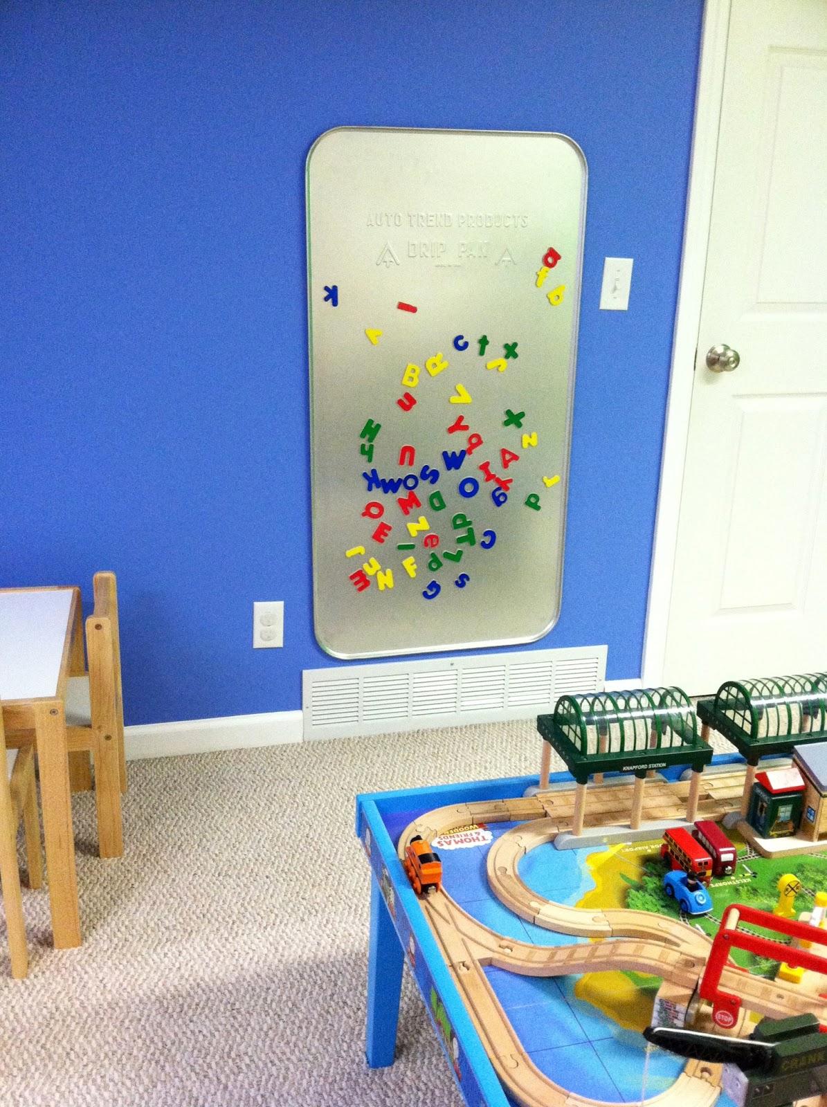Eleanor Olander: This is me...: DIY Magnetic Play Board