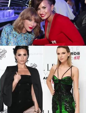 20 CELEBS WHO DON'T LIKE TAYLOR SWIFT 16. Demi Lovato