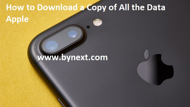 How to Download a Copy of All the Data Apple