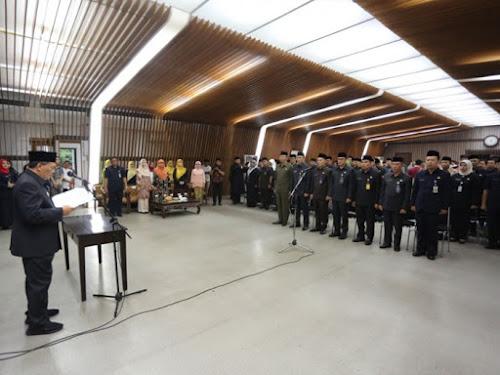 Pelantikan Kepala Dinas Pemkot Bandung 2019