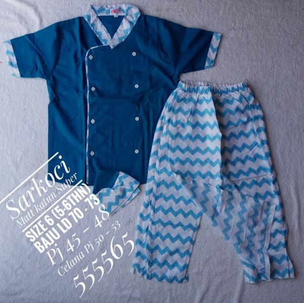 Sarung Koko Peci Anak (Sarkoci) FA-037